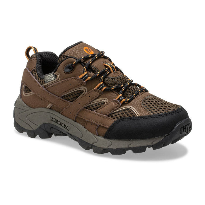 MERRELL MOAB 2 WATERPROOF KIDS MEDIUM AND WIDE Sneakers & Athletic Shoes Merrell EARTH 10.5 M