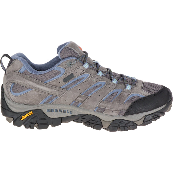 MERRELL MOAB 2 WATERPROOF WOMEN'S GRANITE MEDIUM AND WIDE Sneakers & Athletic Shoes Merrell