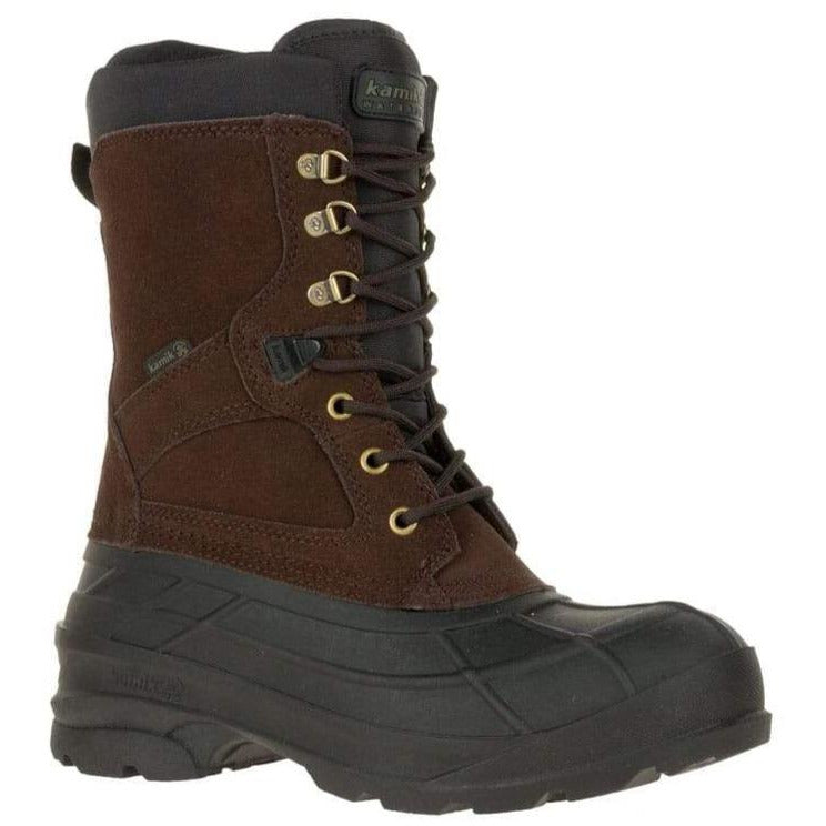 KAMIK NATION WIDE MEN'S DARK BROWN MEN'S BOOTS Genfoot America