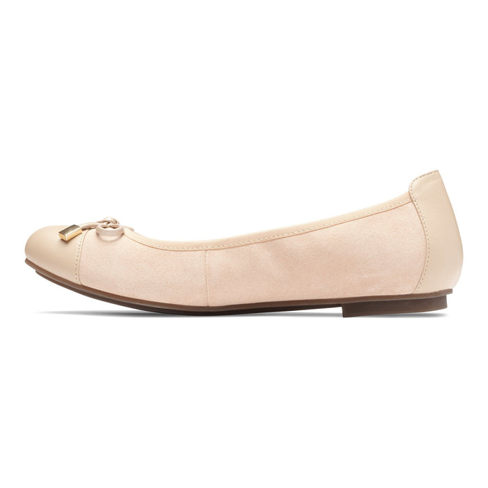 VIONIC MINNA FLAT  SAND - FINAL SALE - danformshoesvt