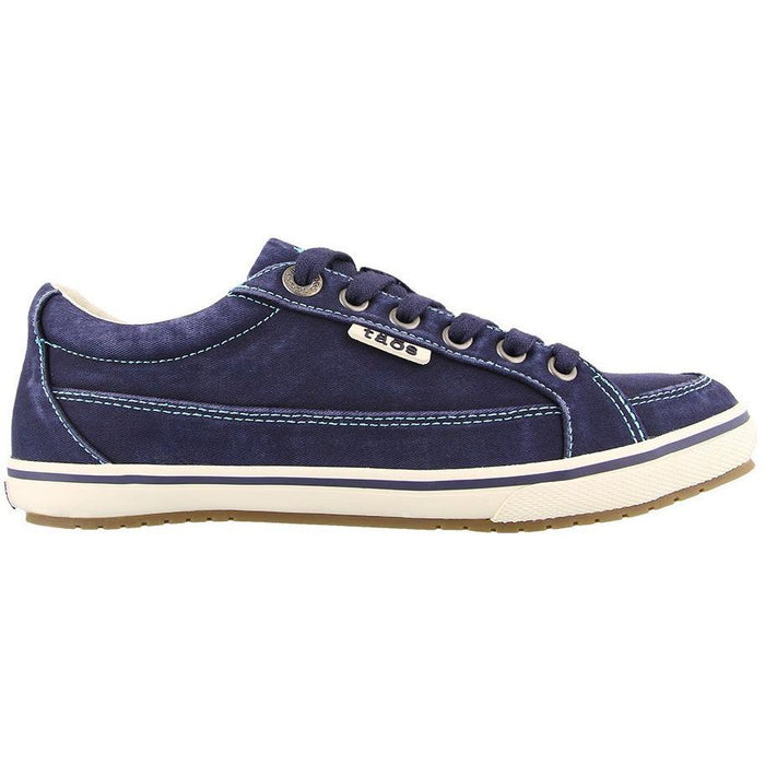 TAOS MOC STAR NAVY DISTRESSED - danformshoesvt
