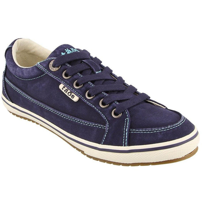 TAOS MOC STAR WOMEN'S Sneakers & Athletic Shoes Taos NAVY DISTRESSED 5