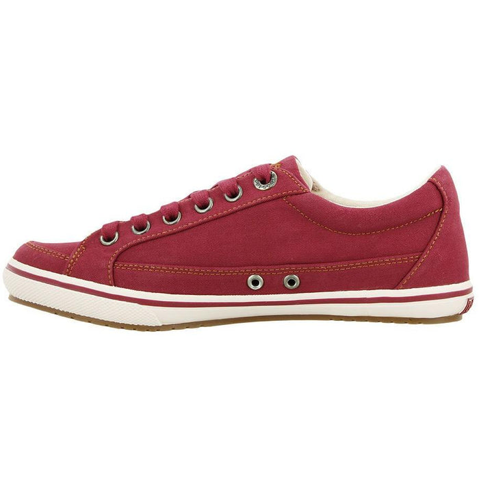 TAOS MOC STAR RED DISTRESSED - danformshoesvt