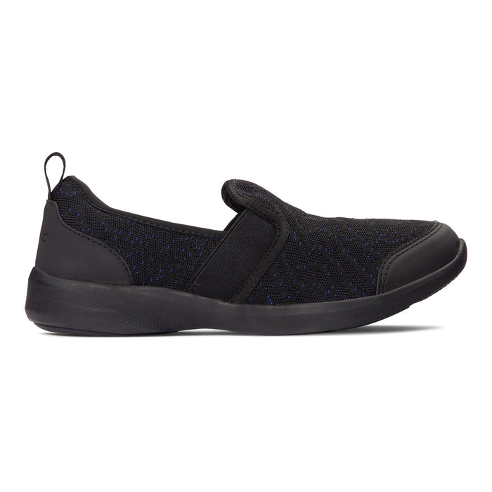 VIONIC ROZA SLIP-ON SNEAKER BLACK - danformshoesvt