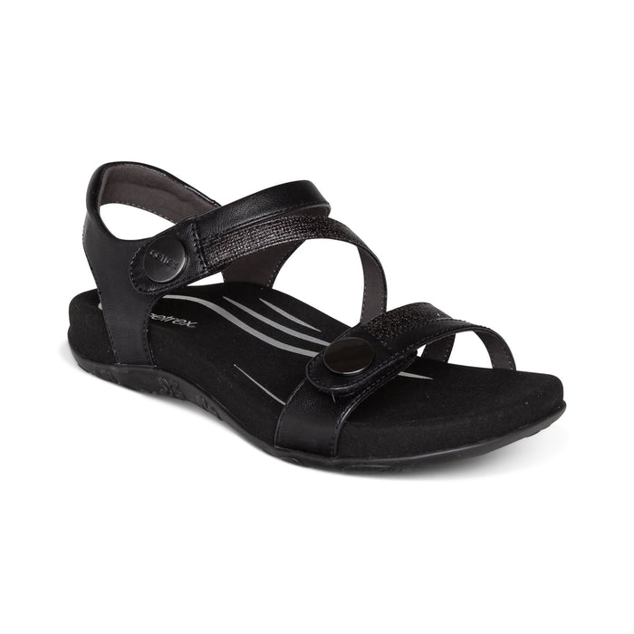 AETREX JESS BLACK Sandals Aetrex