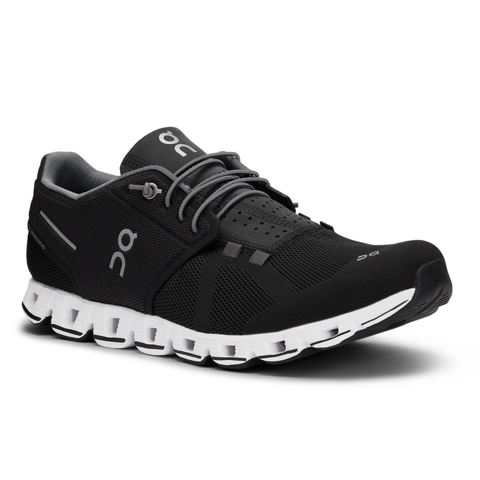 ON RUNNING CLOUD MEN'S Sneakers & Athletic Shoes On Running BLK/WHT 7 M