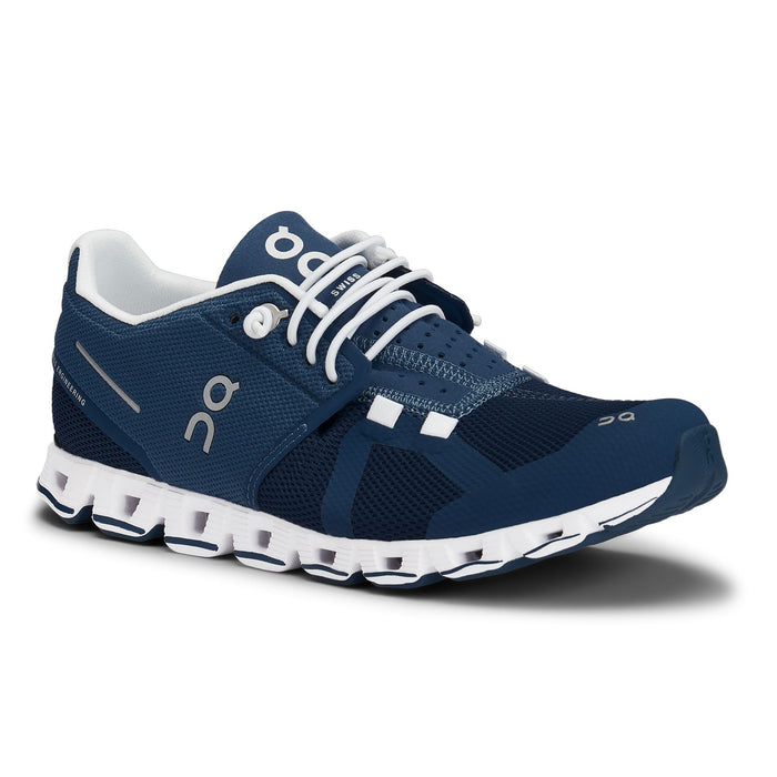 ON RUNNING CLOUD WOMEN'S Sneakers & Athletic Shoes On Running DENIM/WHITE 5 M