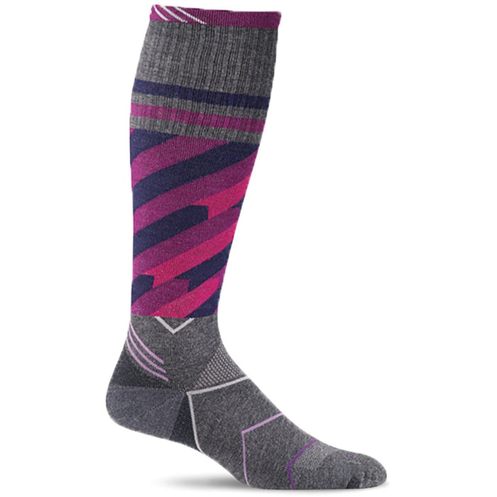 SOCKWELL CYCLONE WOMEN'S CHARCOAL SOCKS SOCKWELL
