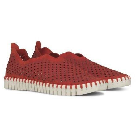 ILSE JACOBSEN TULIP139 FLAT RED WOMEN'S CASUAL ILSE JACOBSEN