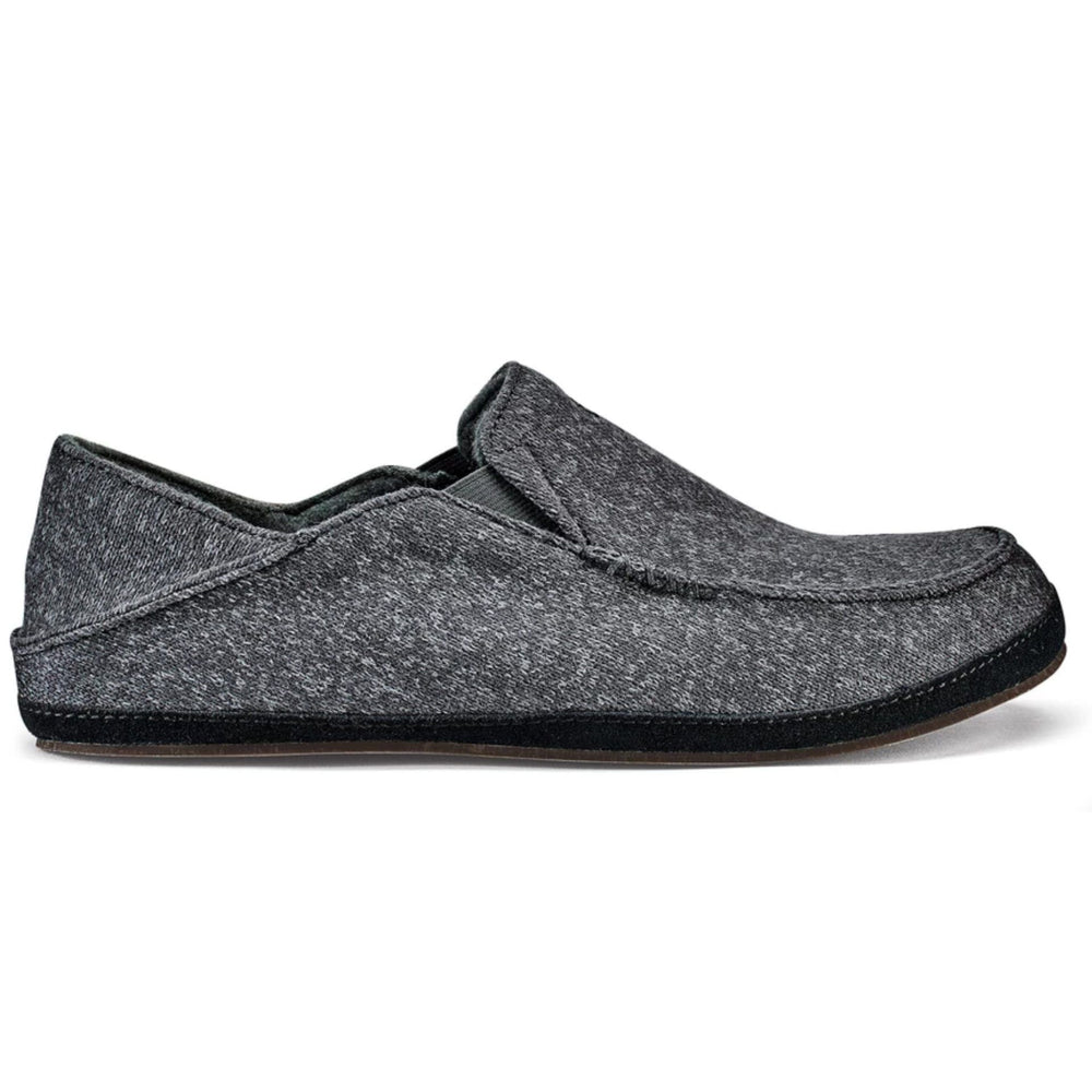 OLUKAI MOLOA HULU SLIPPER DARK SHADOW Slippers Olukai