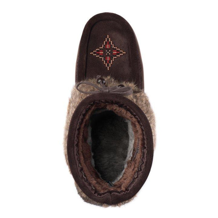 MANITOBAH MUKLUKS KEEWATIN WATERPROOF DARK BROWN - danformshoesvt