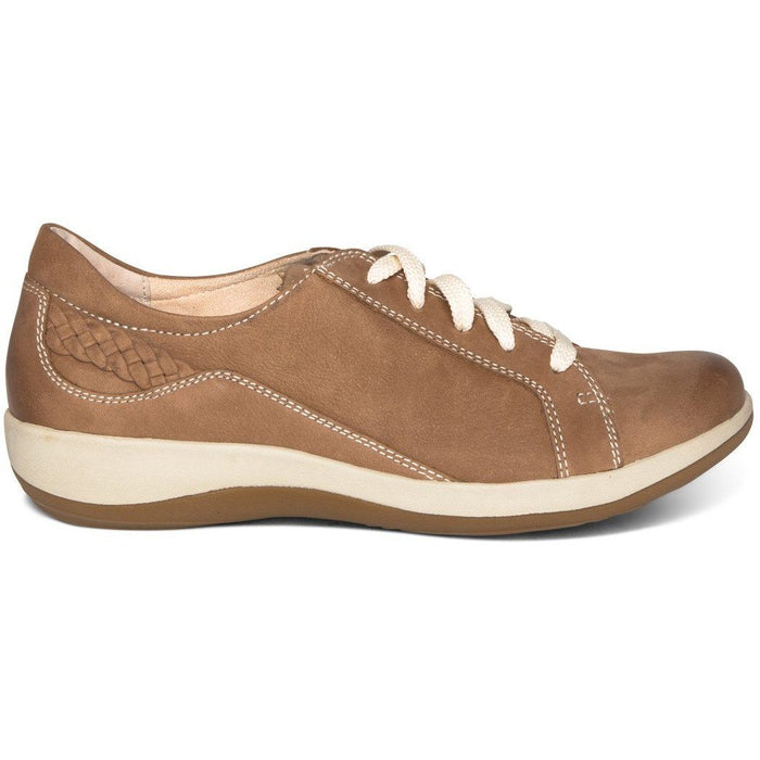 AETREX DANA LACE UP OXFORD MOCHA Sneakers & Athletic Shoes Aetrex