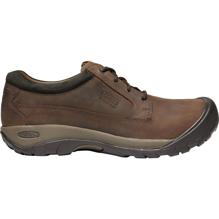 KEEN AUSTIN WP CHOCOLATE BROWN - danformshoesvt