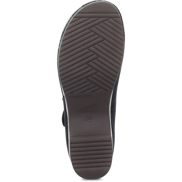 Dansko Beatrice Black Burnished Nubuck
