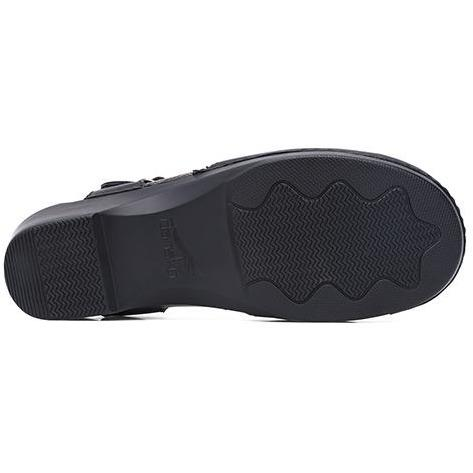 Dansko Sam Black Soft Full Grain - danformshoesvt