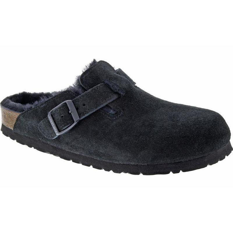 BIRKENSTOCK BOSTON SHEARLING BLACK Clogs Birkenstock