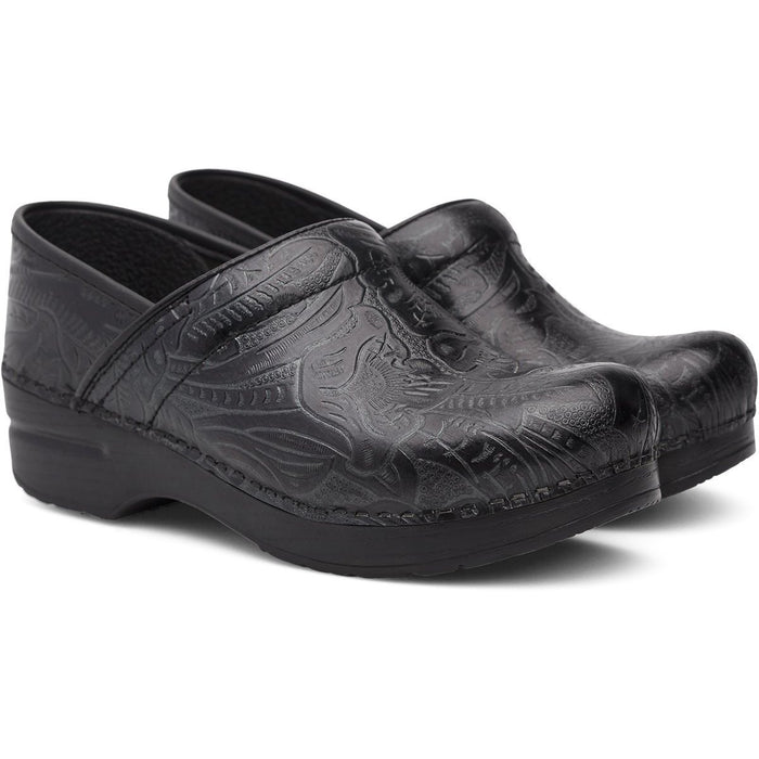 Dansko Professional Black Tooled - danformshoesvt