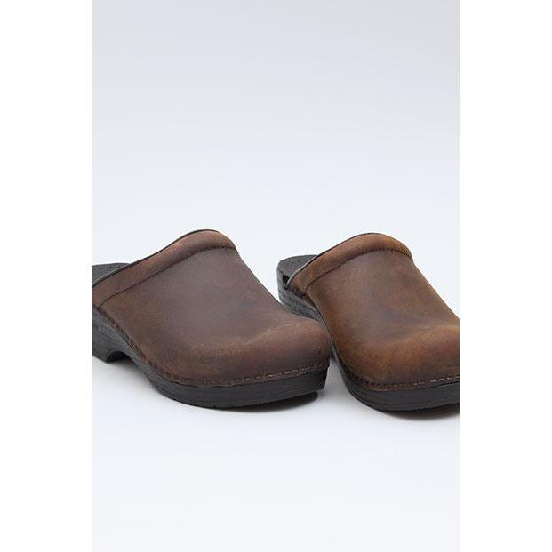 DANSKO SONJA ANTIQUE BROWN Clogs Dansko