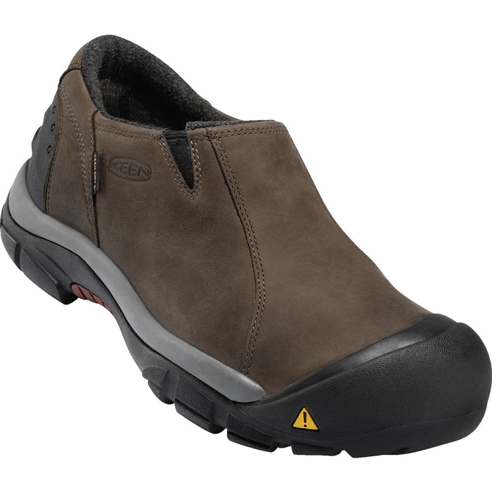 KEEN BRIXEN LOW WP SLATE BLACK - danformshoesvt