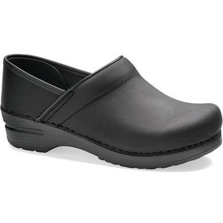 Dansko Professional Women's Black Oiled - danformshoesvt