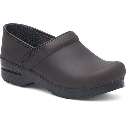 DANSKO PROFESSIONAL MEN'S ANTIQUE BROWN Clogs Dansko