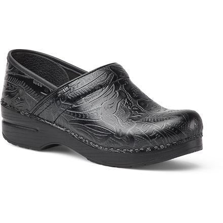 DANSKO PROFESSIONAL BLACK TOOLED Clogs Dansko