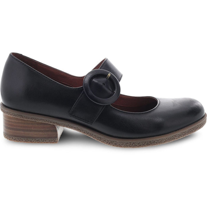 DANSKO BRANDY BLACK WATERPROOF BURNISHED - danformshoesvt
