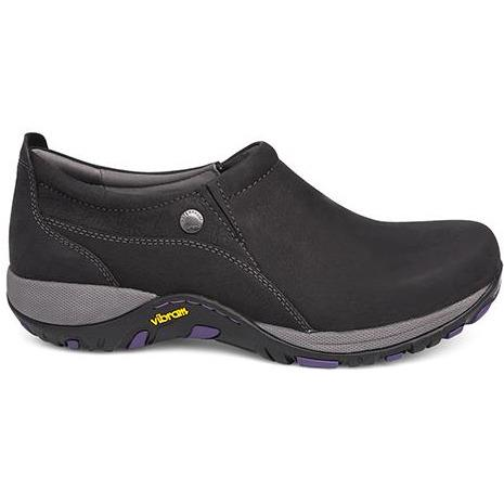 Dansko Patti Black Milled Nubuck