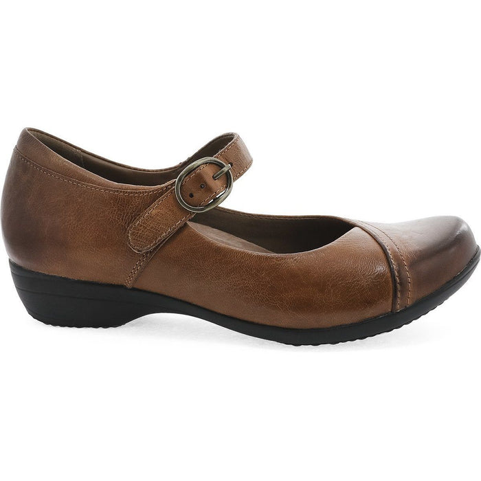 DANSKO FAWNA CHESTNUT BURNISHED CALF - danformshoesvt