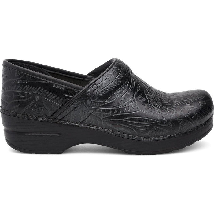 Dansko Professional Black Tooled Wide - danformshoesvt
