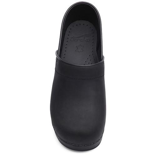 Dansko Professional Men's Black Oiled - danformshoesvt