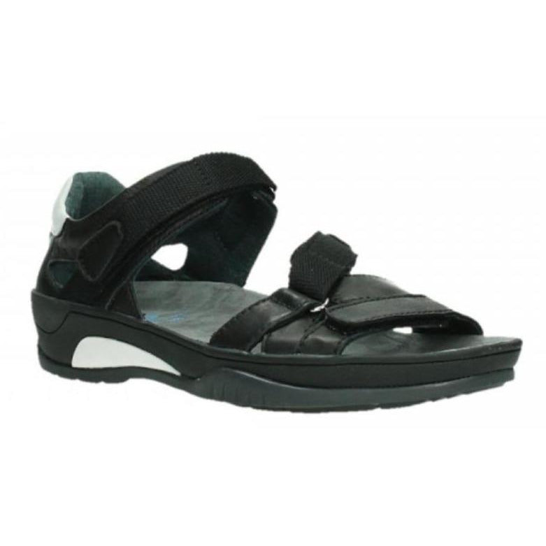 WOLKY RIPPLE SANDAL WOMEN'S Sandals Wolky BLACK 36