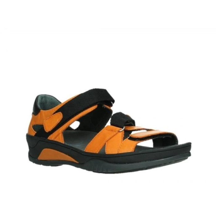 WOLKY RIPPLE SANDAL WOMEN'S Sandals Wolky ORANGE 36