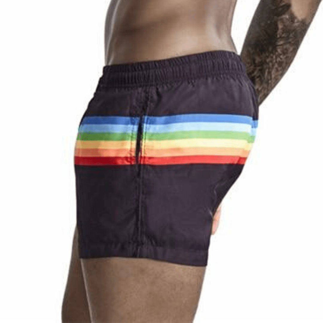 Gay Pride Men's Swim Shorts