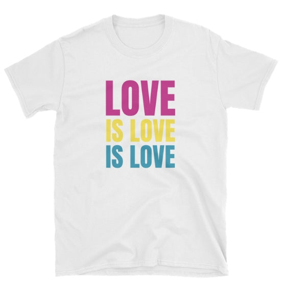 Pan Love is Love Tee - PRIDEMODE