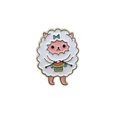 Pansexual Sweater Knitting Sheep Pin