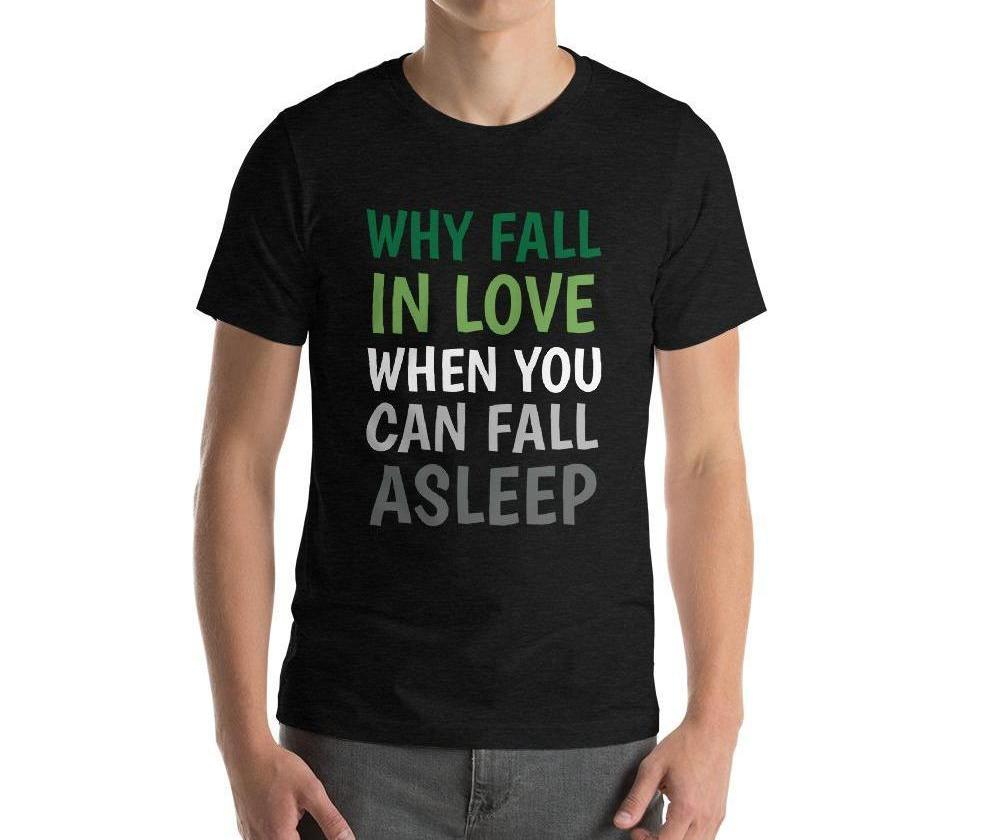 Why Fall In Love Tee - PRIDEMODE
