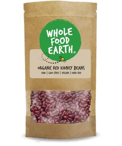 Organic Red Kidney Beans: You asked - You've got it! | Wholefood Earth®