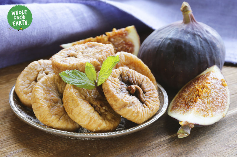 Wholefood Earth: Natural Figs Lerida  | GMO Free | Natural | Vegan | Dairy Free | No Added Sugar