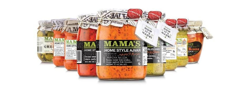 Mama's: Ajvar Mild Roasted Red Pepper Spread - 290g - Wholefood Earth® - 5310146002635