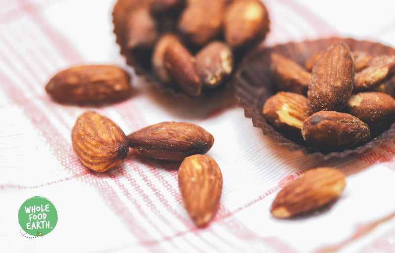 Wholefood Earth: Baked & Salted Almonds | GMO Free | Vegan | Dairy Free | No Added Sugar - Wholefood Earth® - 5056351405341