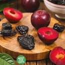 Wholefood Earth: French Prunes Medium No Soak 30/40 | GMO Free | Natural | Vegan | Dairy Free | No Added Sugar - Wholefood Earth® - 5056351401268