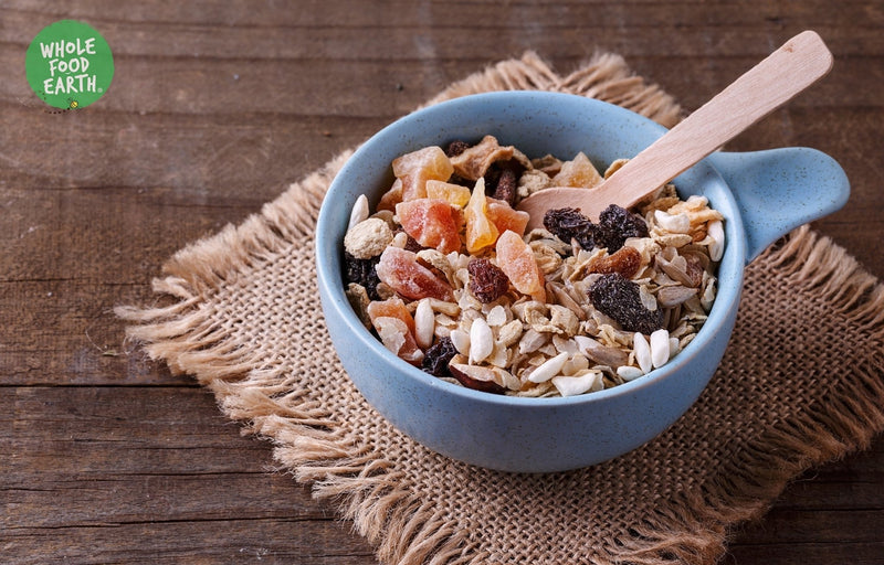 Wholefood Earth: Gluten Free Muesli | GMO Free | Vegan | Dairy Free | No Added Sugar - Wholefood Earth® - 5056351404948