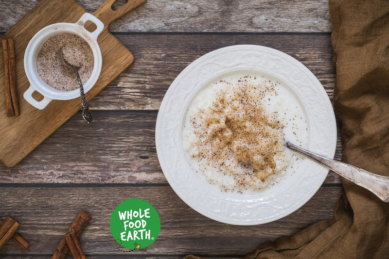 Wholefood Earth: Organic Arborio Rice | Raw | GMO Free | Vegan | No additives - Wholefood Earth®