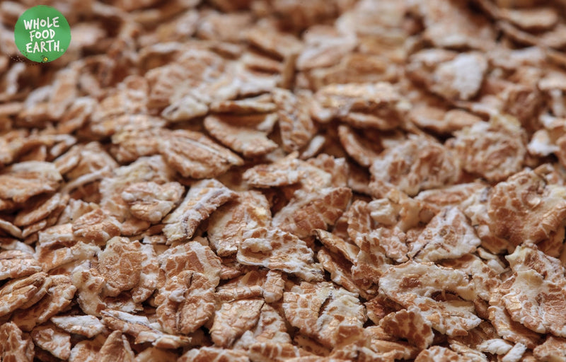 Wholefood Earth: Plain Toasted Wheat Flakes | GMO Free | Vegan | Dairy Free | No Added Sugar - Wholefood Earth® - 5056351401923