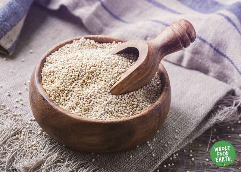 Wholefood Earth: Quinoa Grain | GMO Free | Natural | Vegan | Dairy Free | No Added Sugar - Wholefood Earth® - 5056351403088