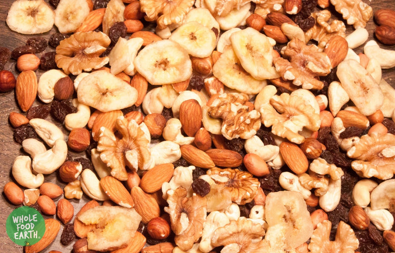 Wholefood Earth: Trail Mix (Fruits & Nuts) | GMO Free | Vegan | Dairy Free - Wholefood Earth® - 5056351403583