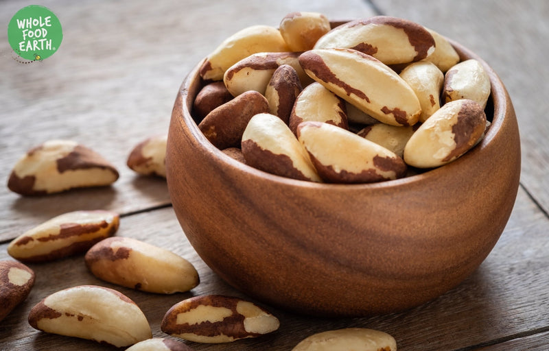 Wholefood Earth: Whole Brazil Nuts | GMO Free | Natural | Vegan | Dairy Free | No Added Sugar - Wholefood Earth® - 5056351405655