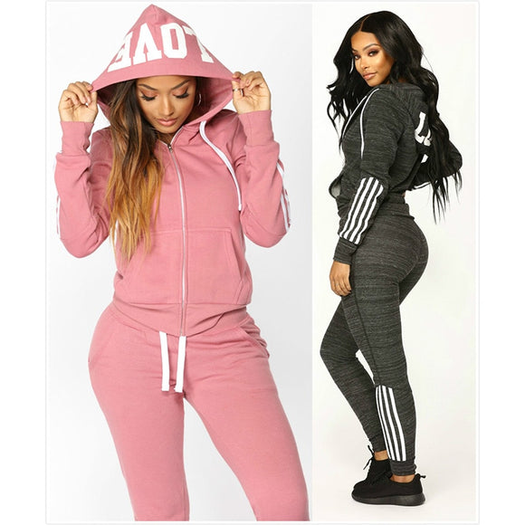 LOVE Hooded Tracksuit
