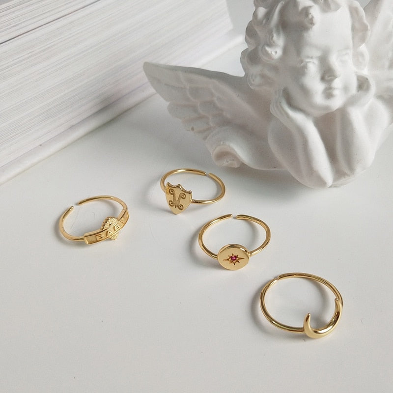 18k Gold Plated Ring - Assorted Designs